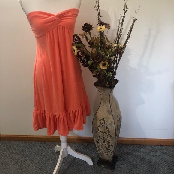 Victoria's Secret Dresses & Skirts - Victoria Secret strapless beach dress or cover up